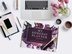My Someday Planner Business and Life Calendar Organizer Goals Journal Social Media Content Planner For Female Entrepreneurs Women Business Owners and Wedding Business Bosses