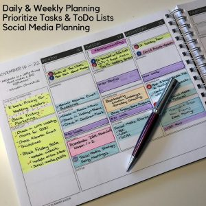 My Someday Planner 2021 Edition - Business Organizer Goals Journal and Social Media Planner Daily and Weekly Calendar Planner Prioritize Tasks and To Do Lists