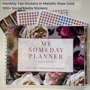 My Someday Planner 2022 Your Ultimate Business Companion More than just a planner Leads you to a better life Social media stickers Someday Consulting Cathy MacRae